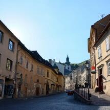 Centrum mesta Banská Štiavnica